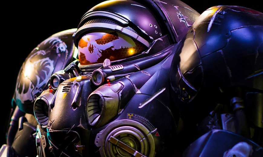 Cosplay Contest Winner: Starcraft 2, Jim Raynor Armor