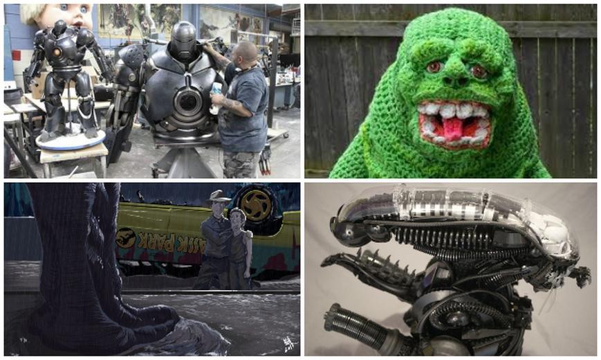 Slimer Costume, Iron Monger, LEGO Xenomorph, Jurassic Park