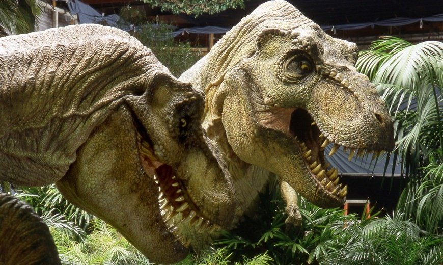 THE LOST WORLD JURASSIC PARK 2 T-Rex Attack | Stan Winston ... T Rex The Lost World Jurassic Park