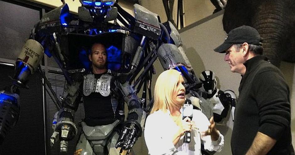 Monsters on the News! - KTLA's Allie Mac Kay Visits the