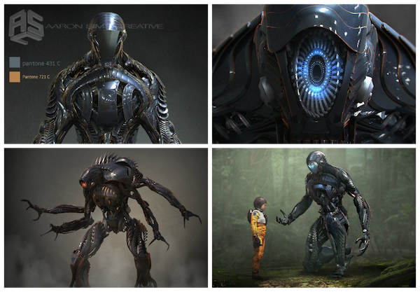 Danger Will Robinson See How The Artists At Spectral Motion Built The Incredible Robot For The New Netflix Series Lost In Space Stan Winston School Of Character Arts