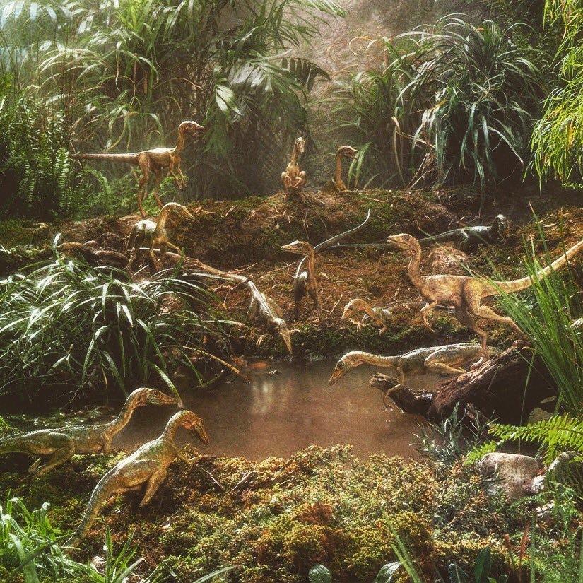 Sam Neill & Jeff Goldblum, Kong: Skull Island Concept