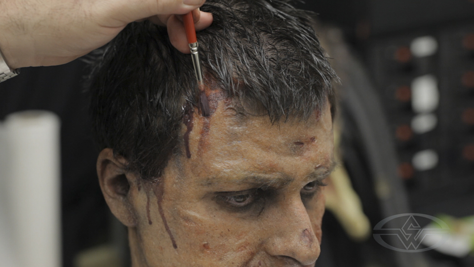 Zombie Makeup Make A Zombie With Pros Aide Transfers