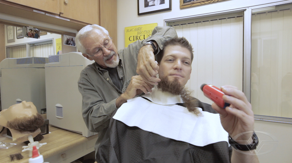 Fake Beard Hair Accessory Ume Child Pirate Gnome