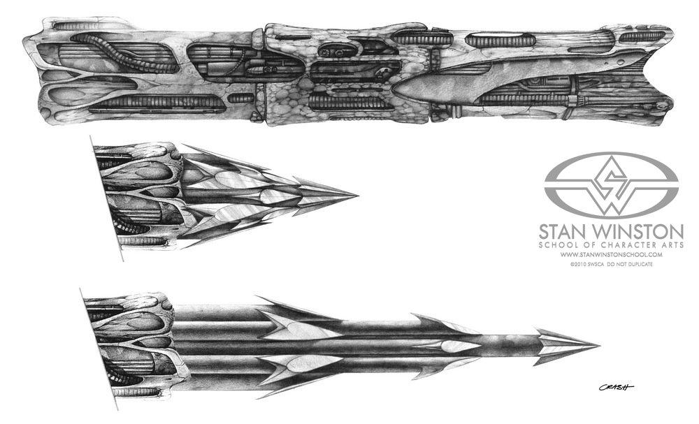 Predator 2 Movie - Predator's New Weapons - Behind-the