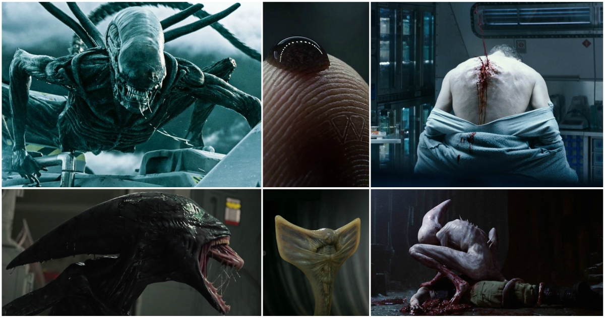 Alien Covenant Defeats T Rex Skywalker Family Clever Girl Low Budget Predator Avp And Jim Henson For Most Liked Facebook Post Stan Winston
