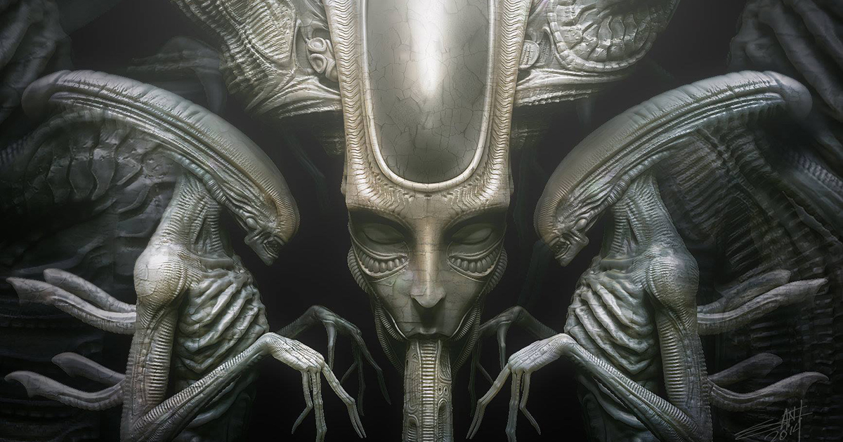 H.R. Giger Tribute defeats Sleeping Beauty, The Walking ... H.r. Giger Art